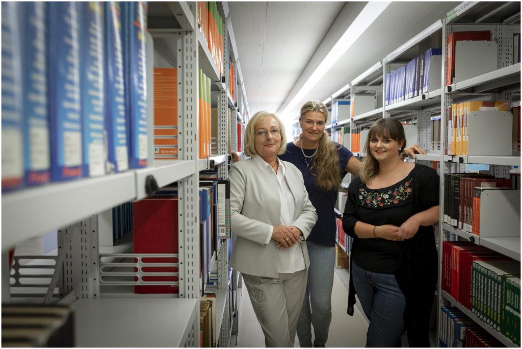 TU Graz, Teamfotos, Bibliothek und Archiv